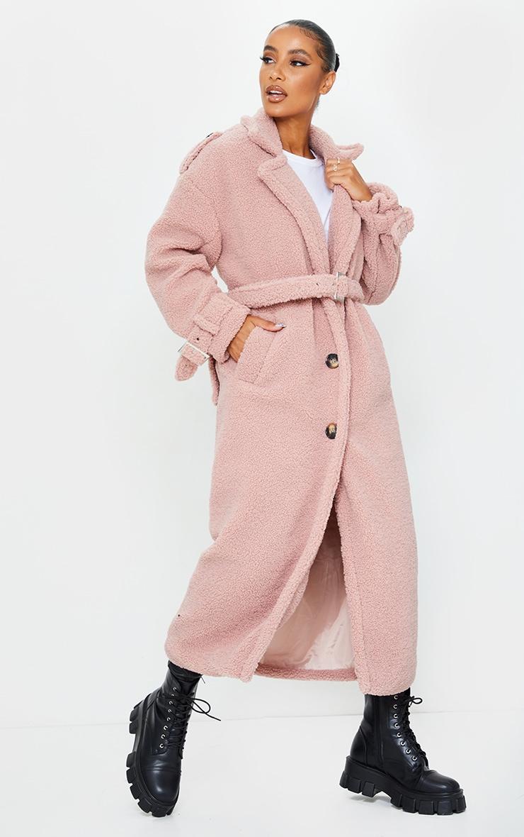 Rose Borg Oversized Belted Coat 3