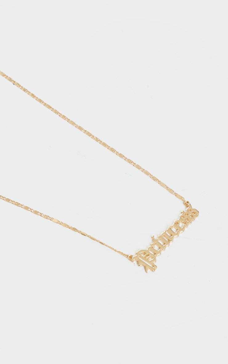Gold Princess Necklace 3