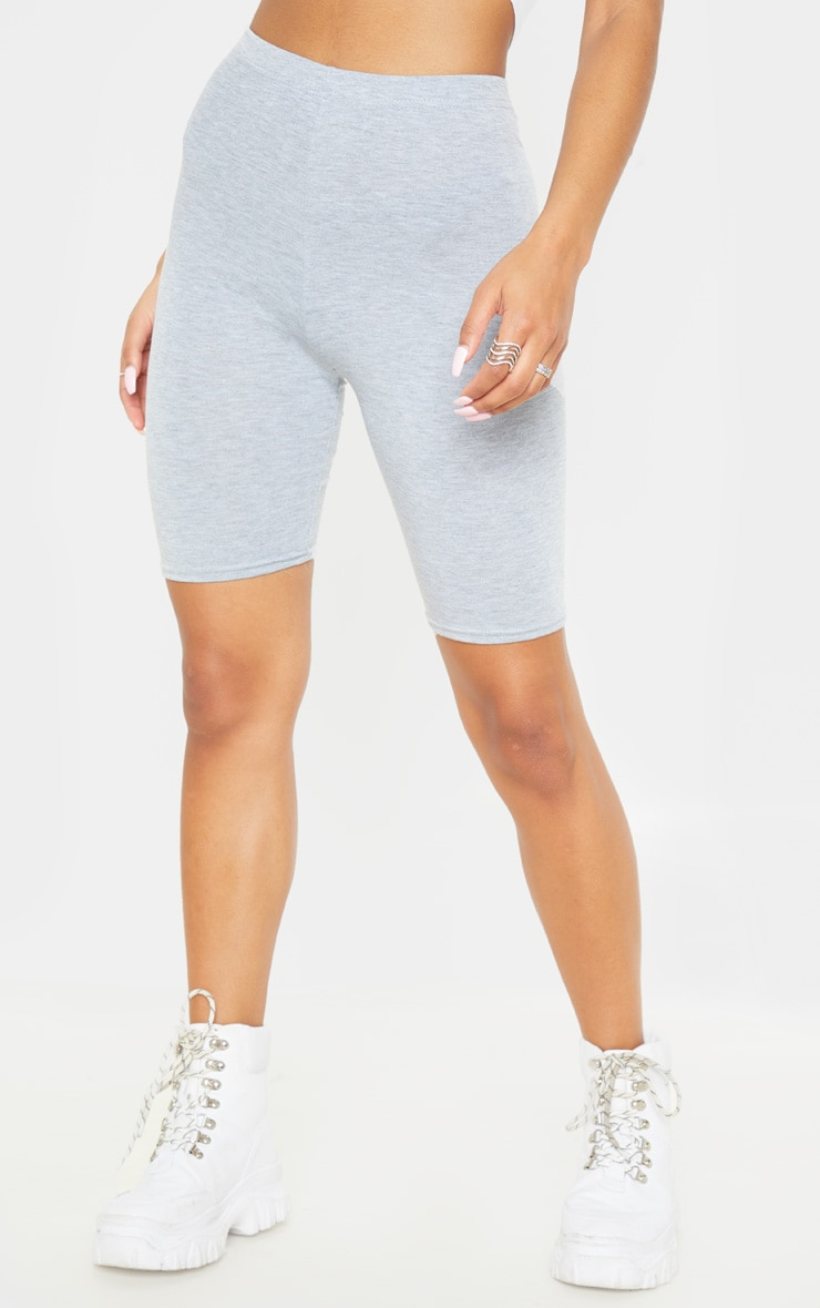 Grey Basic Bike Short 2 Pack 2