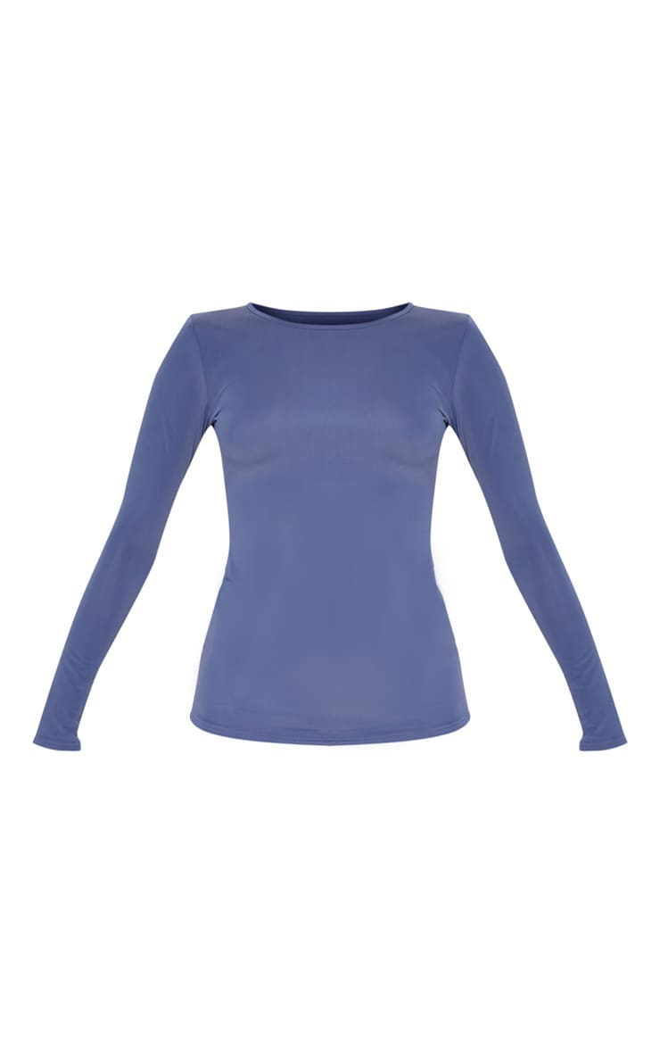 Petrol Basic Long Sleeve Gym Top 3