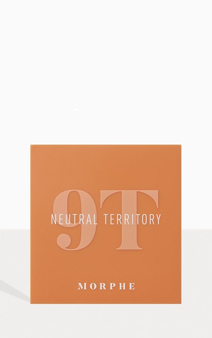 Morphe 9T Neutral Territory Artistry Eyeshadow Palette 3