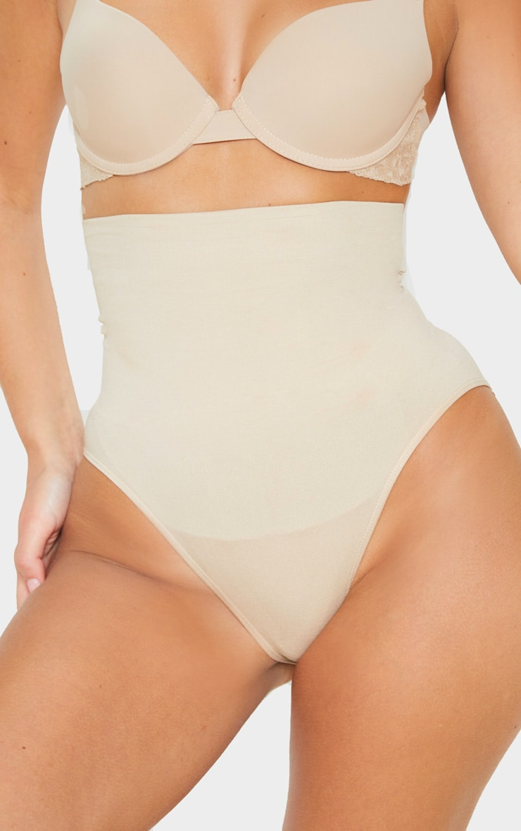 Nude Seamless High Waist Control Shapewear Brief 6
