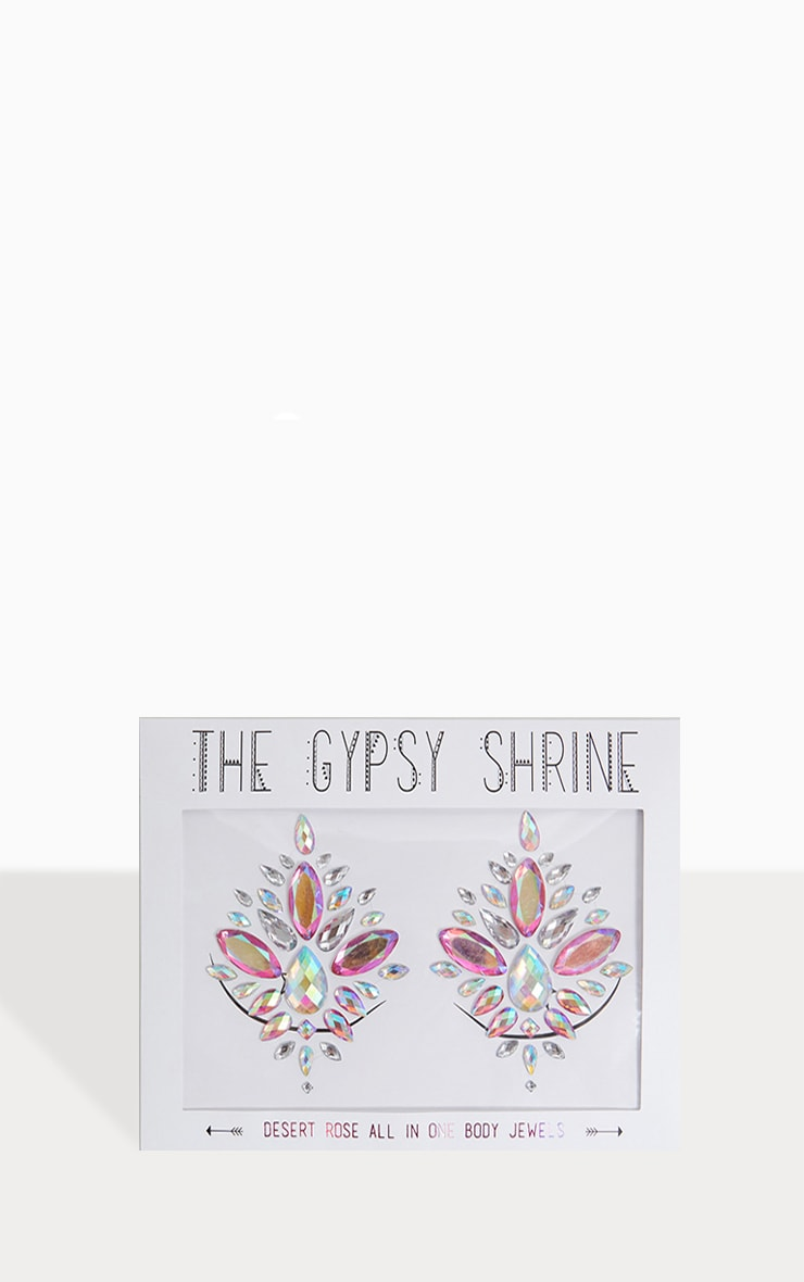 Bijou pour la poitrine The Gypsy Shrine - Desert Rose  1