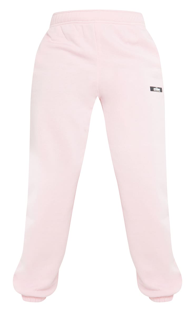 PRETTYLITTLETHING Tall Pink Studio Oversized Joggers 5