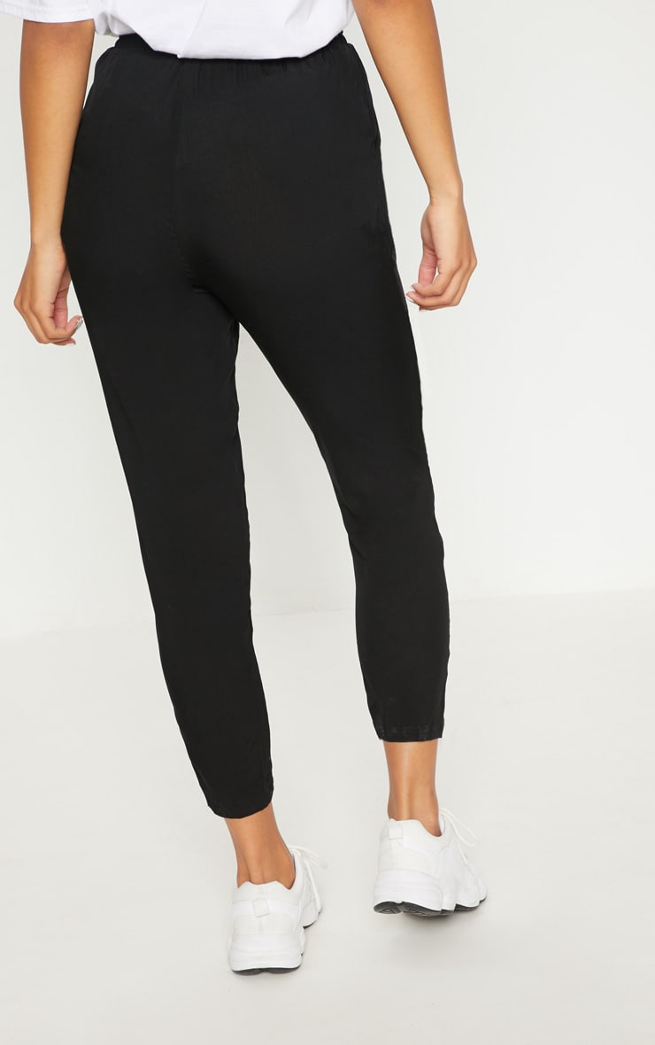 Diya Black Casual Trouser 4