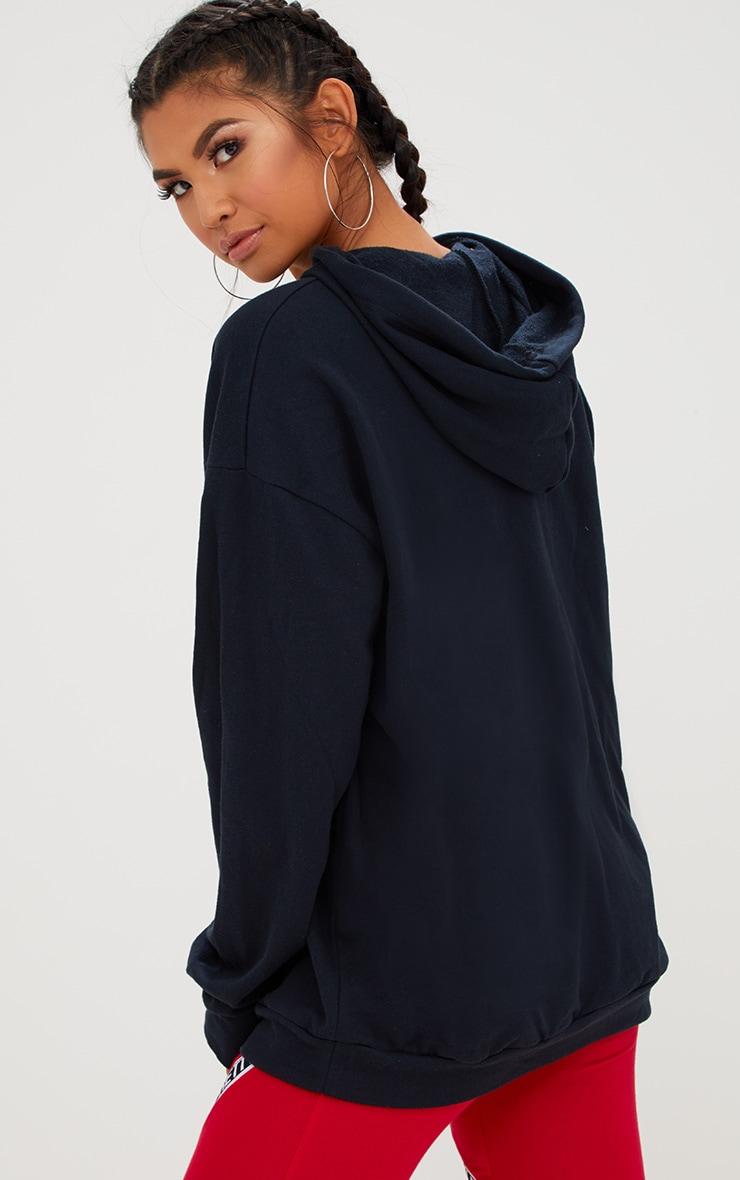 Black Oversized Hoodie 2