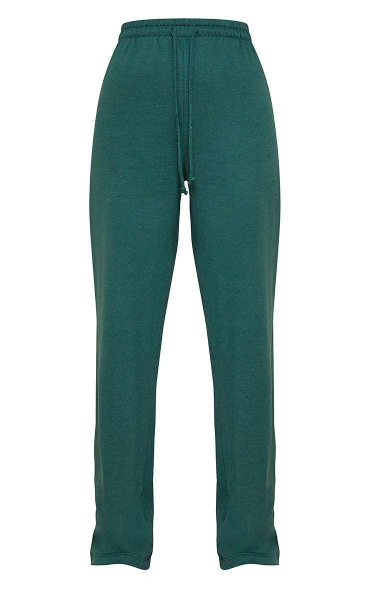 Forest Green Wide Leg Joggers 5