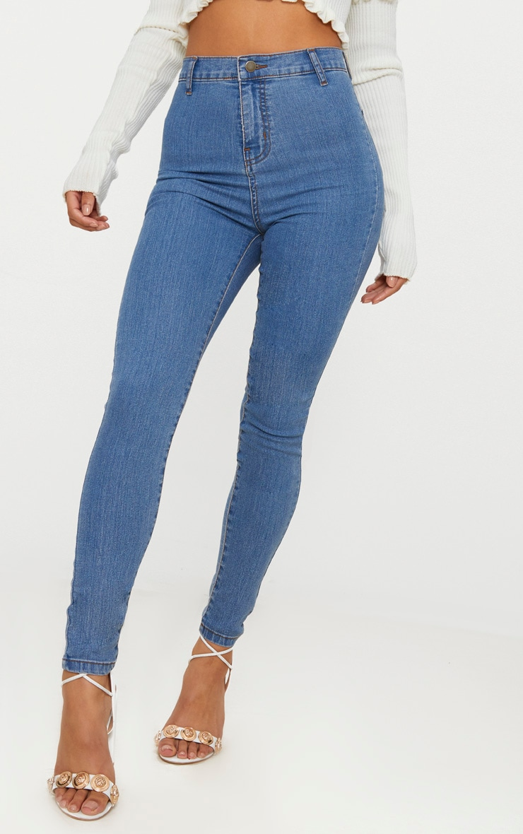 Light Wash Disco Fit Skinny Jean 4