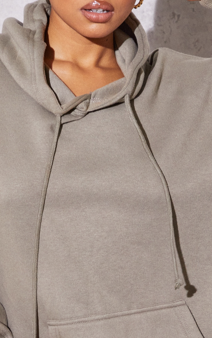 RENEW Petite Light Khaki Ultimate Oversized Hoodie 4