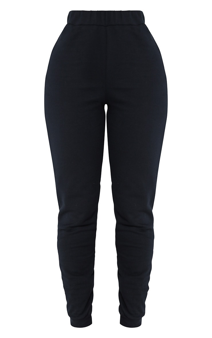 Shape Black Elastic Bottom Joggers 3