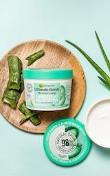 Garnier Ultimate Blends Hair Food Aloe Vera 3-in-1 Normal Hair Mask 1