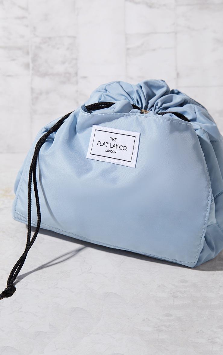 The Flat Lay Co Makeup Bag Haze Blue 2