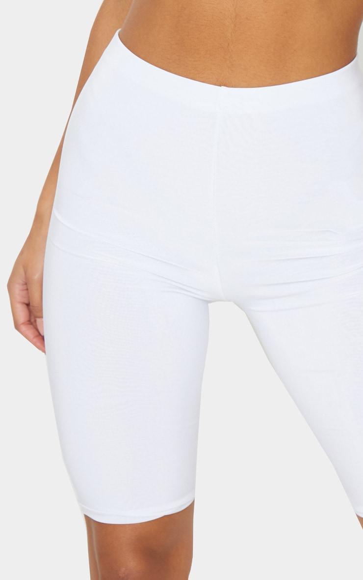 Short-legging slinky long blanc 5
