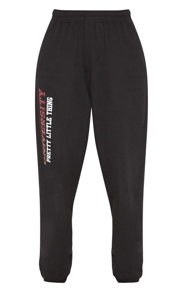 Black Sorority Slogan Joggers 3