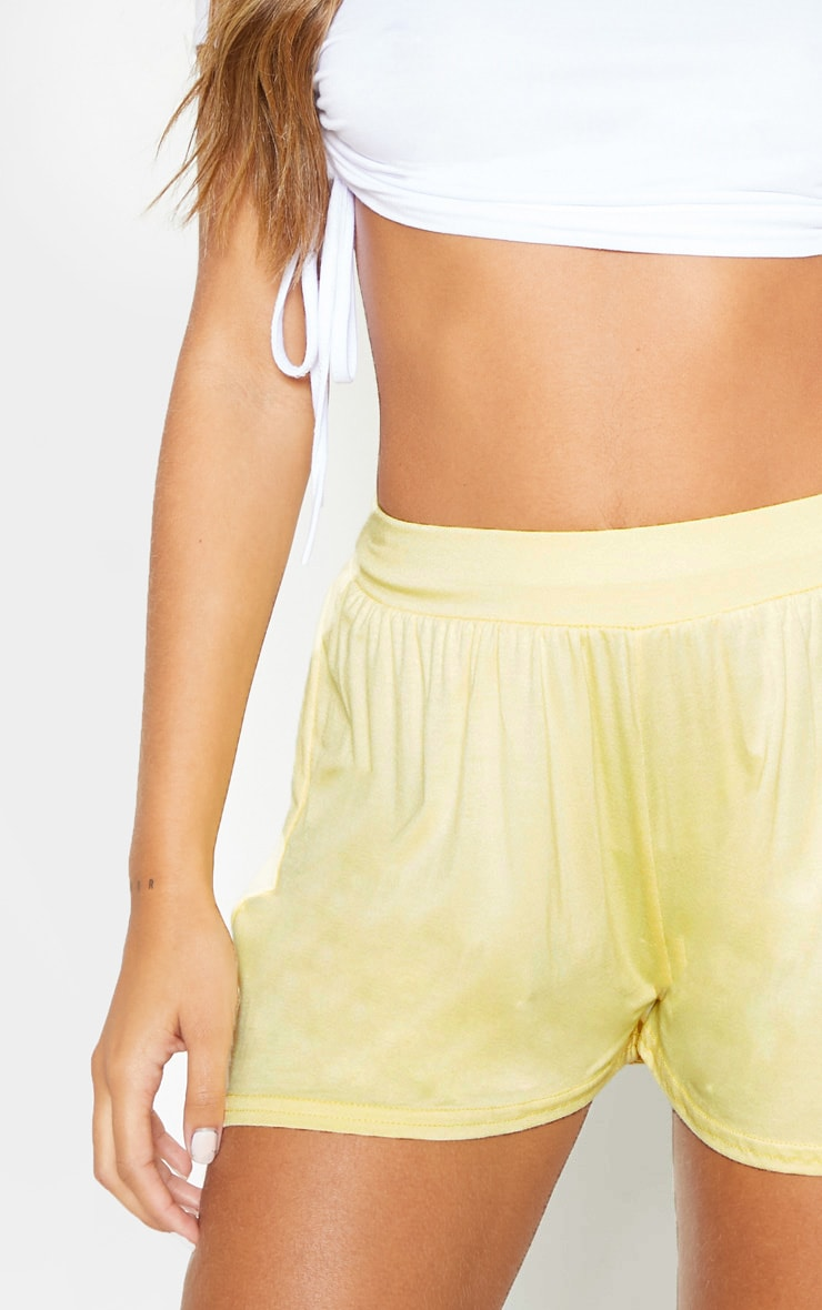 Lemon Jersey Floaty Shorts 6