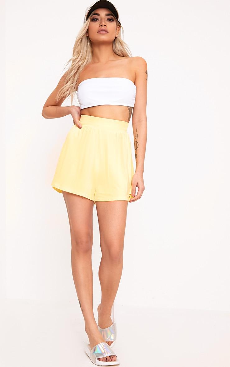 Lemon Jersey Floaty Shorts 5