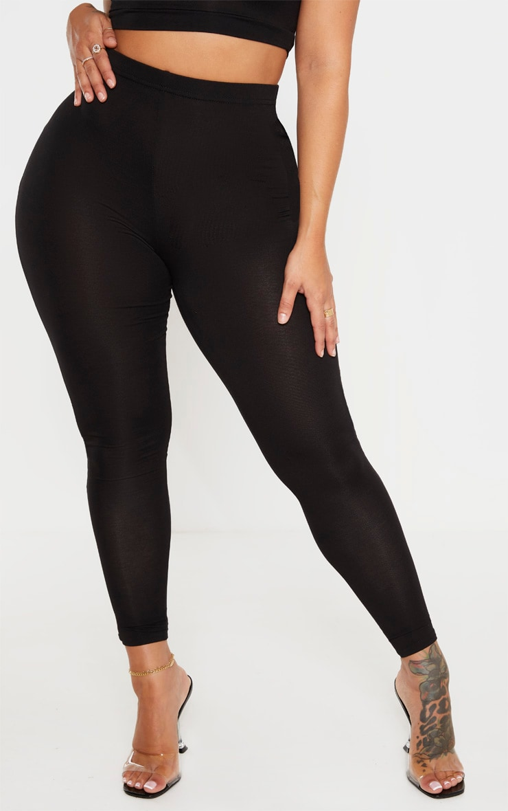 Shape - Legging stretch en jersey noir 2