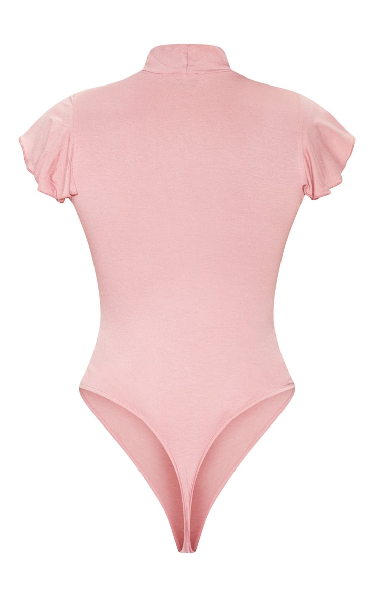 Rose Jersey Frill Shoulder Bodysuit 4