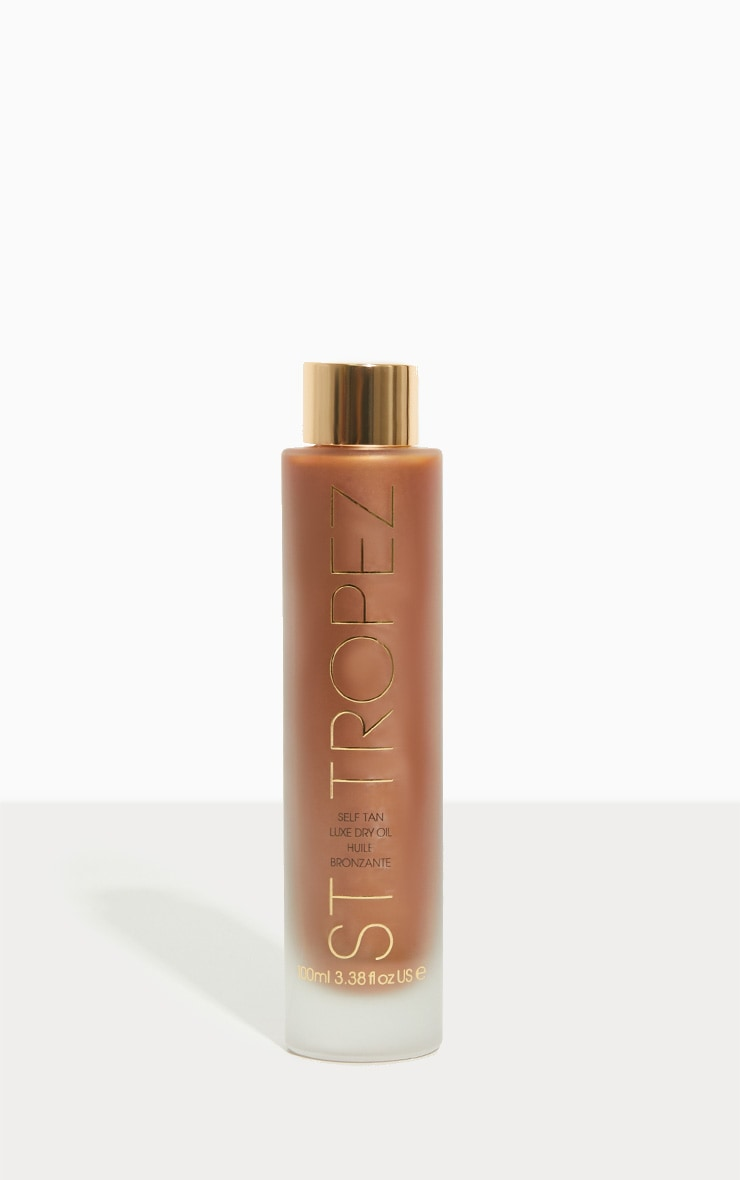 St Tropez Self Tan Luxe Dry Oil 100ml 1