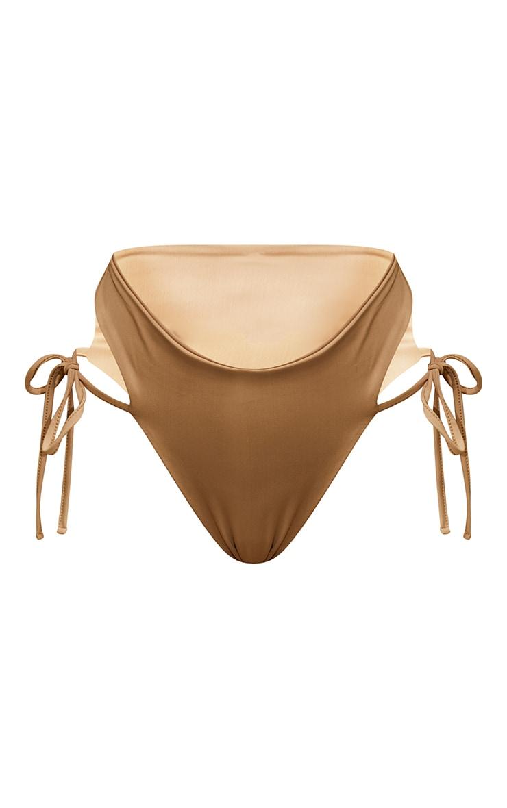 Sand Tie Side High Leg Bikini Bottoms 5