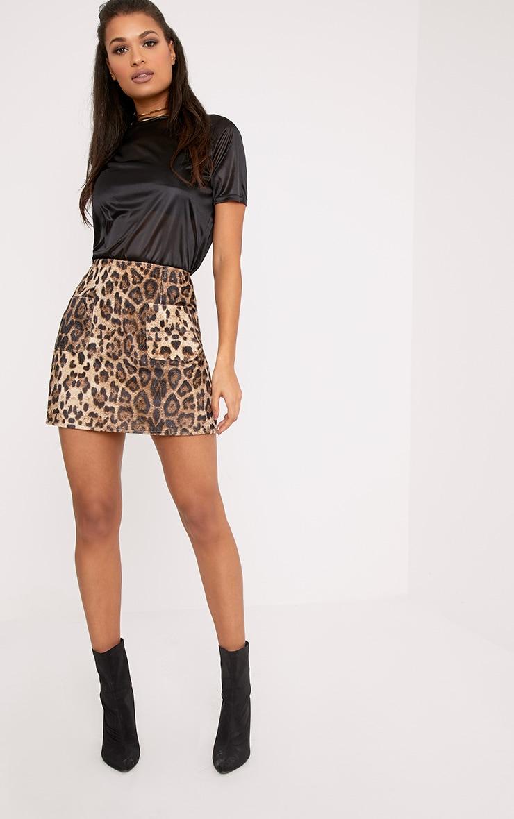 Lexie Black Sheer Slinky T Shirt 4