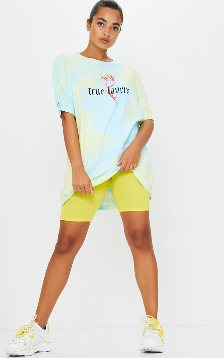 Petite Yellow Bike Short 4