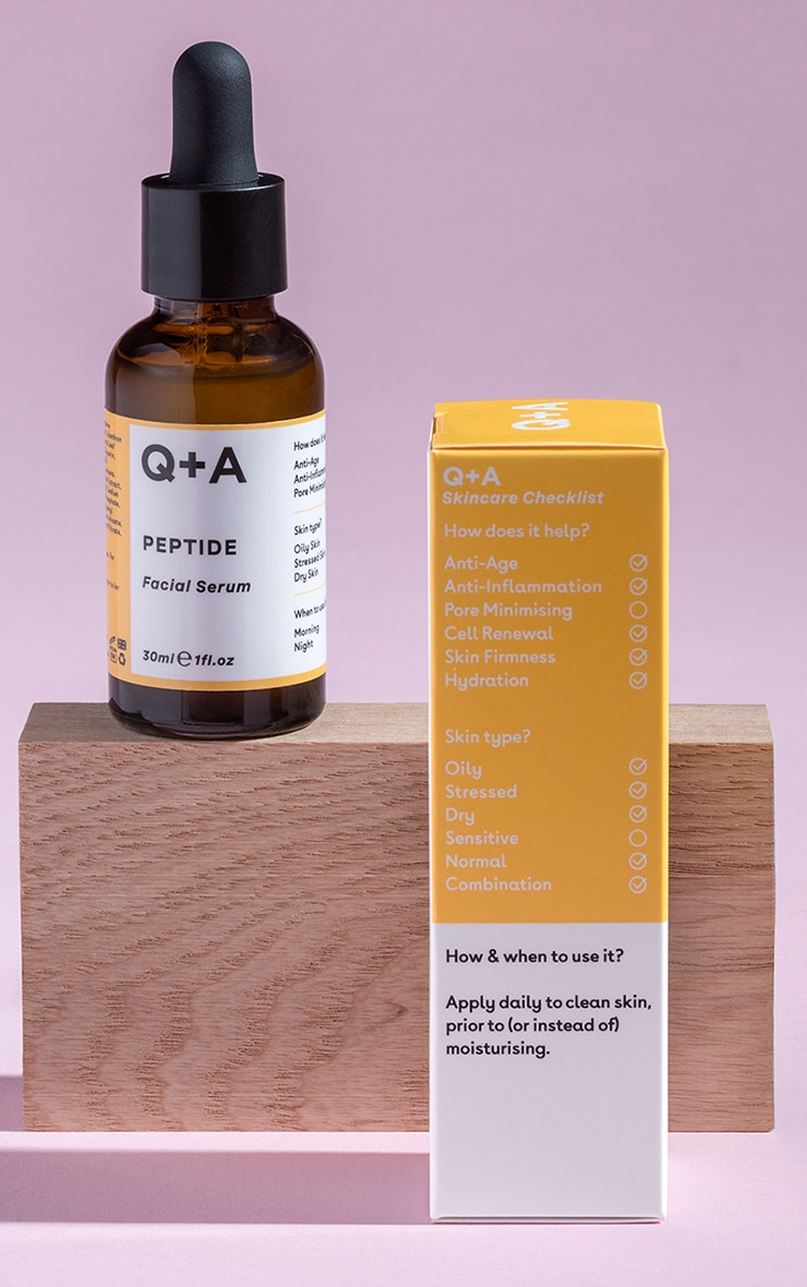 Q+A Peptide Facial Serum 30ml 1