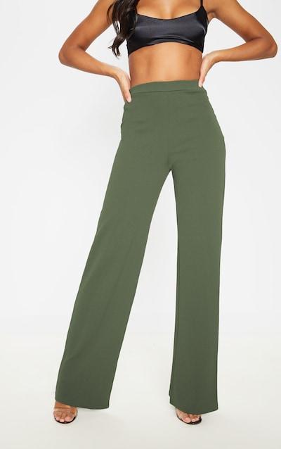 Sage Khaki Wide Leg Trouser