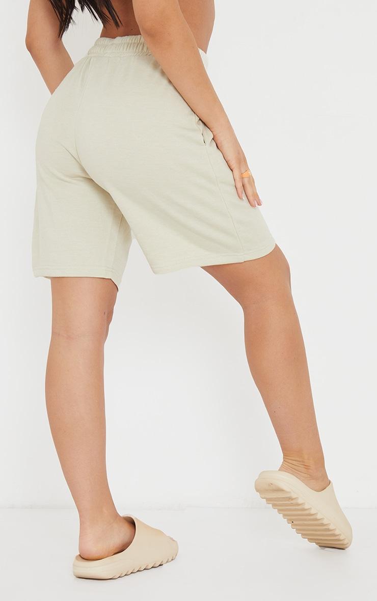 Stone Lightweight Longline Sweat Shorts 3