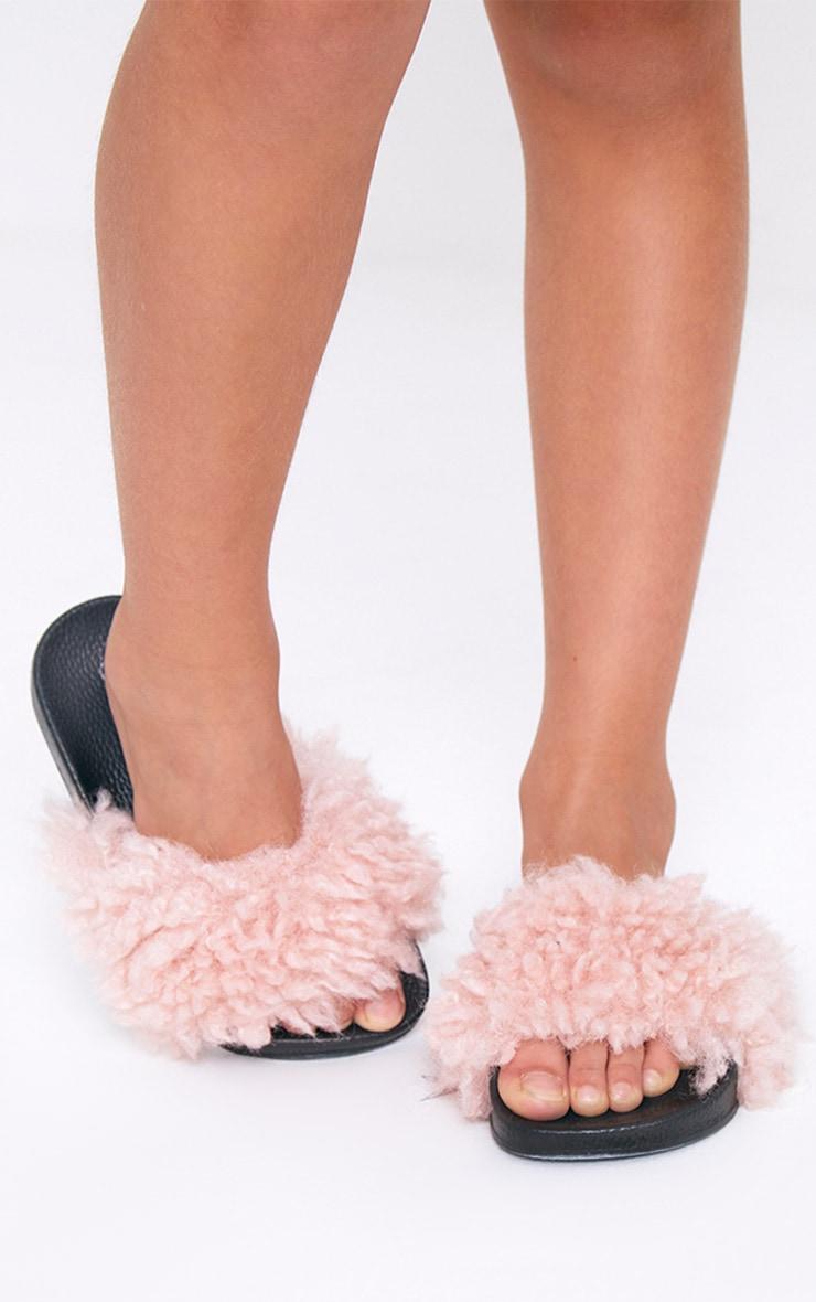 Fluffy Pink Sliders 2