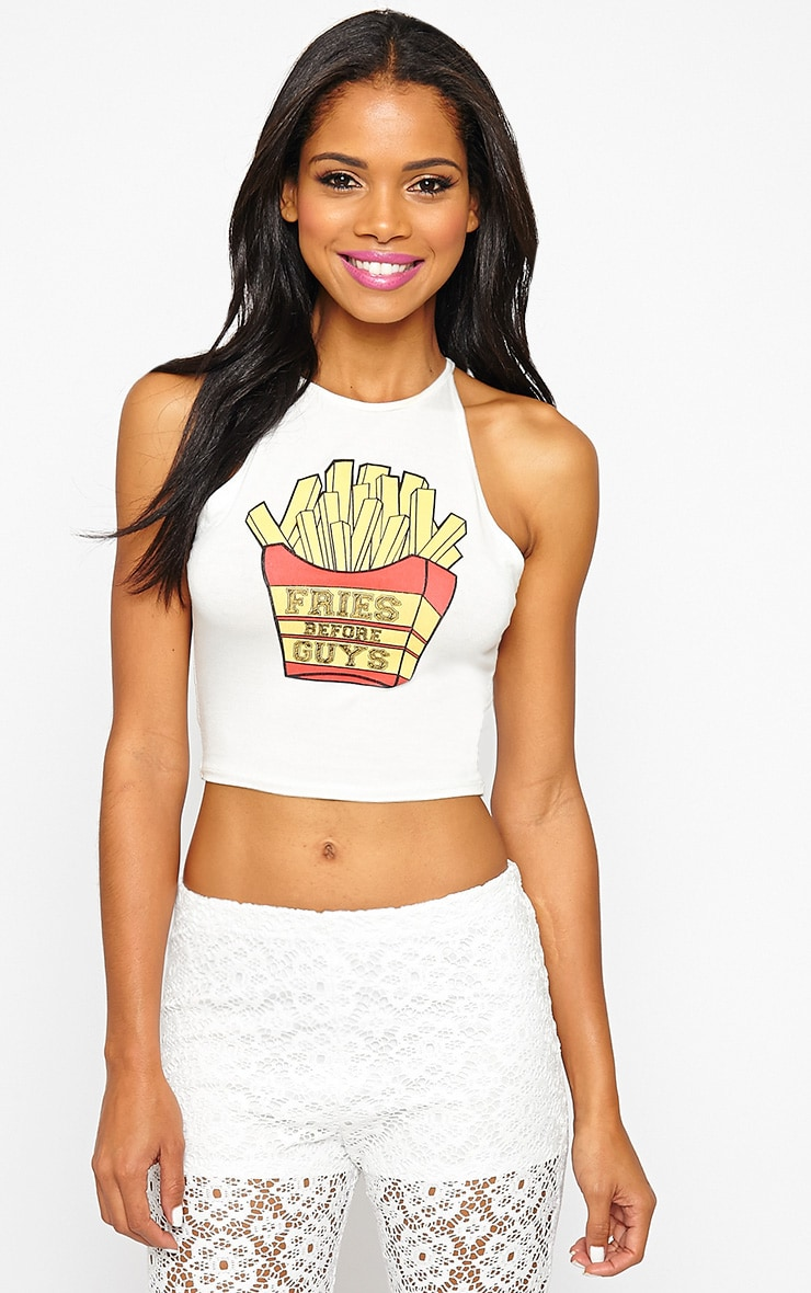 Madison Fries Before Guys Crop Top 5