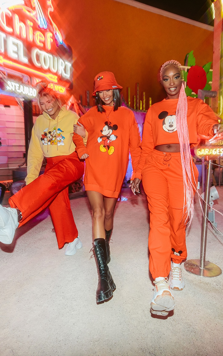 Plus Orange Disney Cargo Pants 3