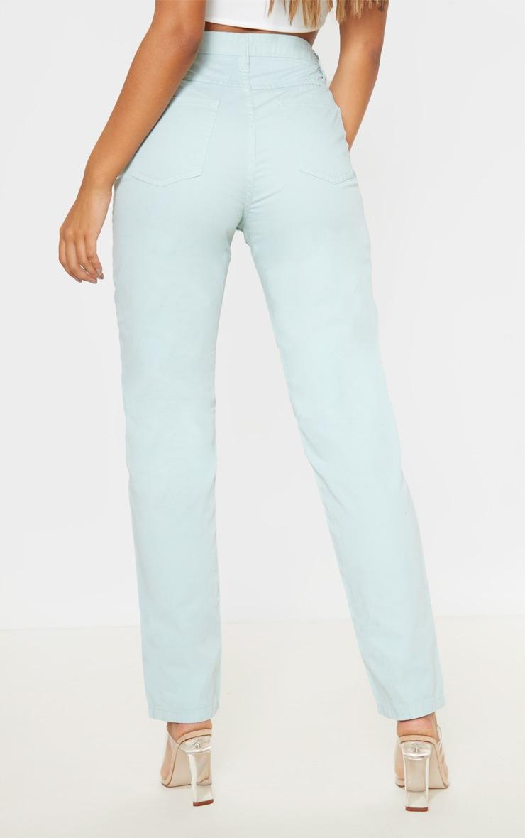 Mint High Waist Mom Jeans 4