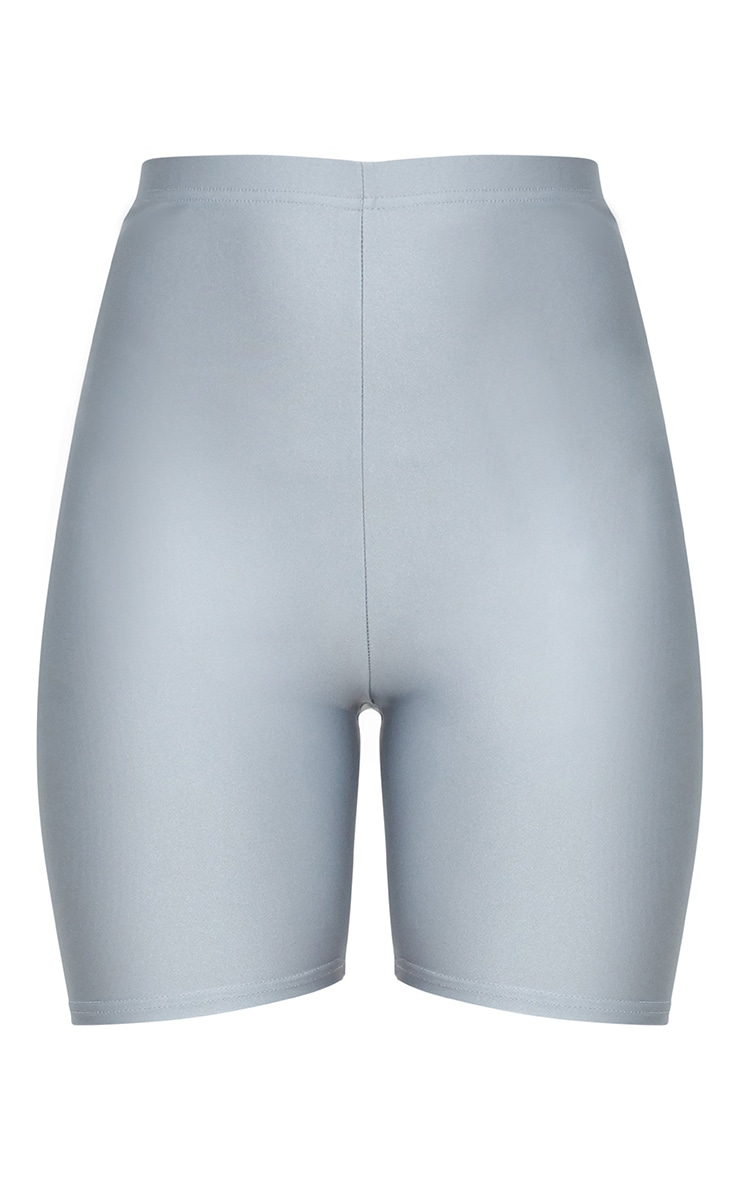 Silver Disco Bike Short 3