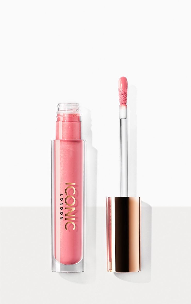 Iconic London Lip Plumping Gloss Peek-a-boo 1
