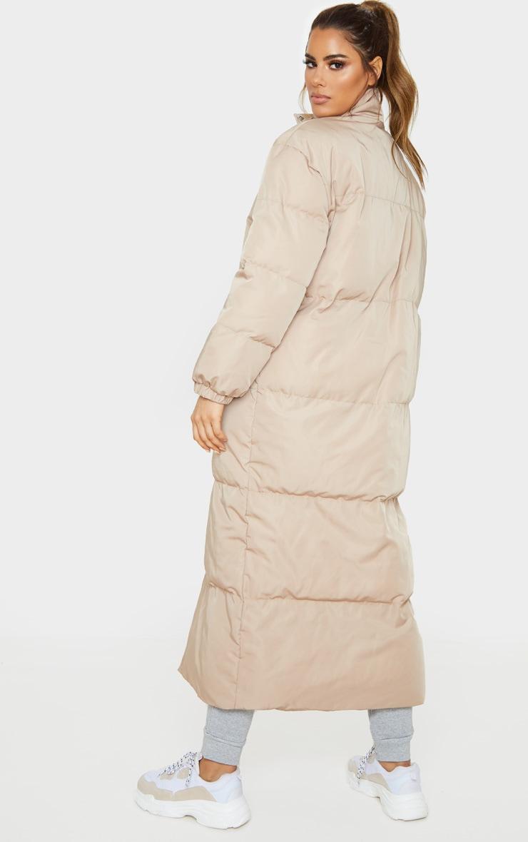 Tall Stone Longline Puffer Coat 2