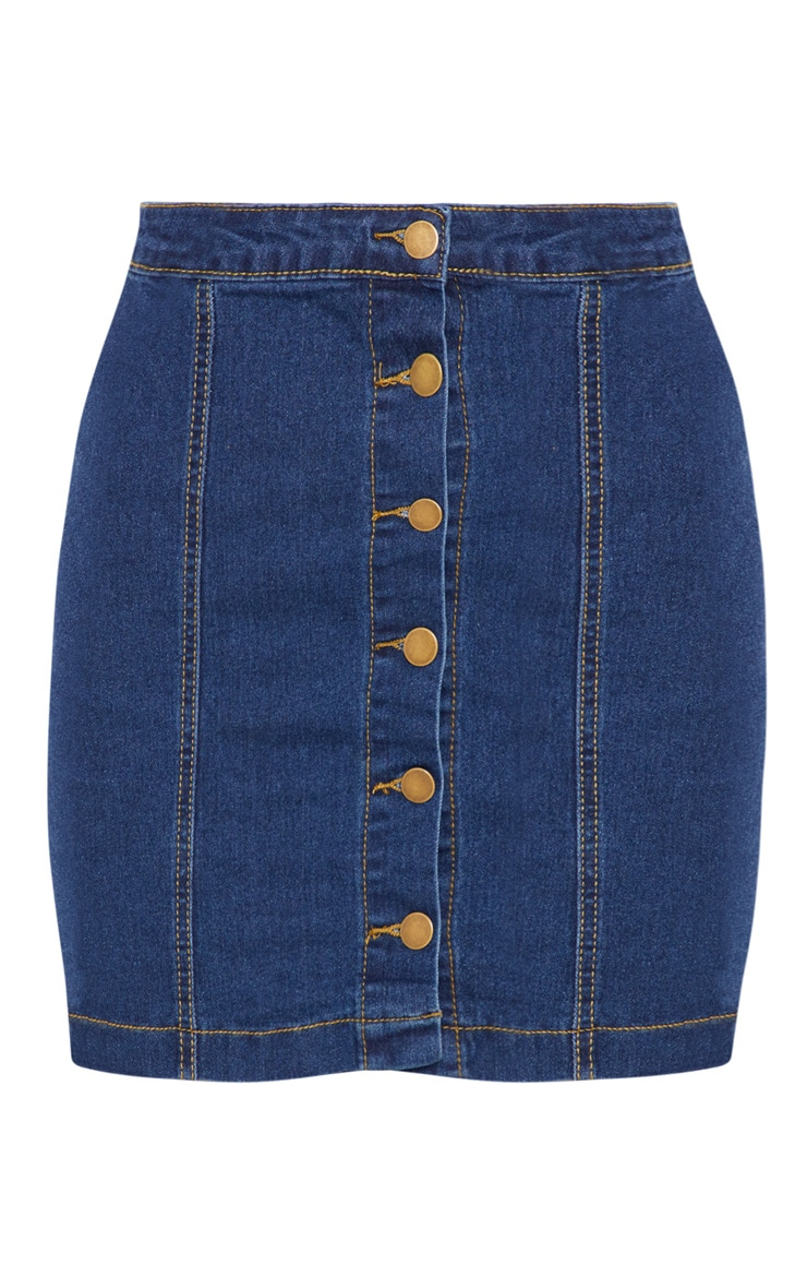 Cammie Blue Denim Mini Skirt 3