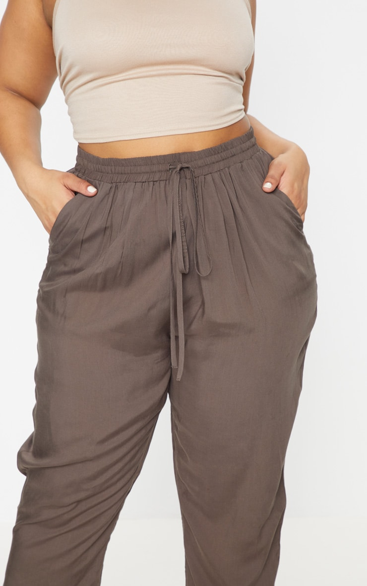 Plus Khaki Casual Trousers 6