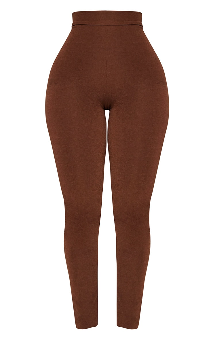 Shape Brown Slinky Leggings 3