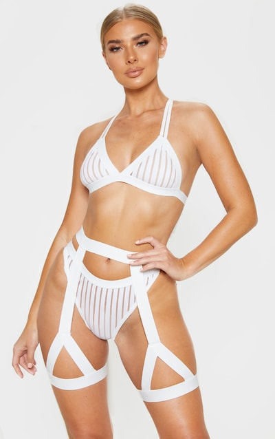 ff98e0a72 White Strappy Harness