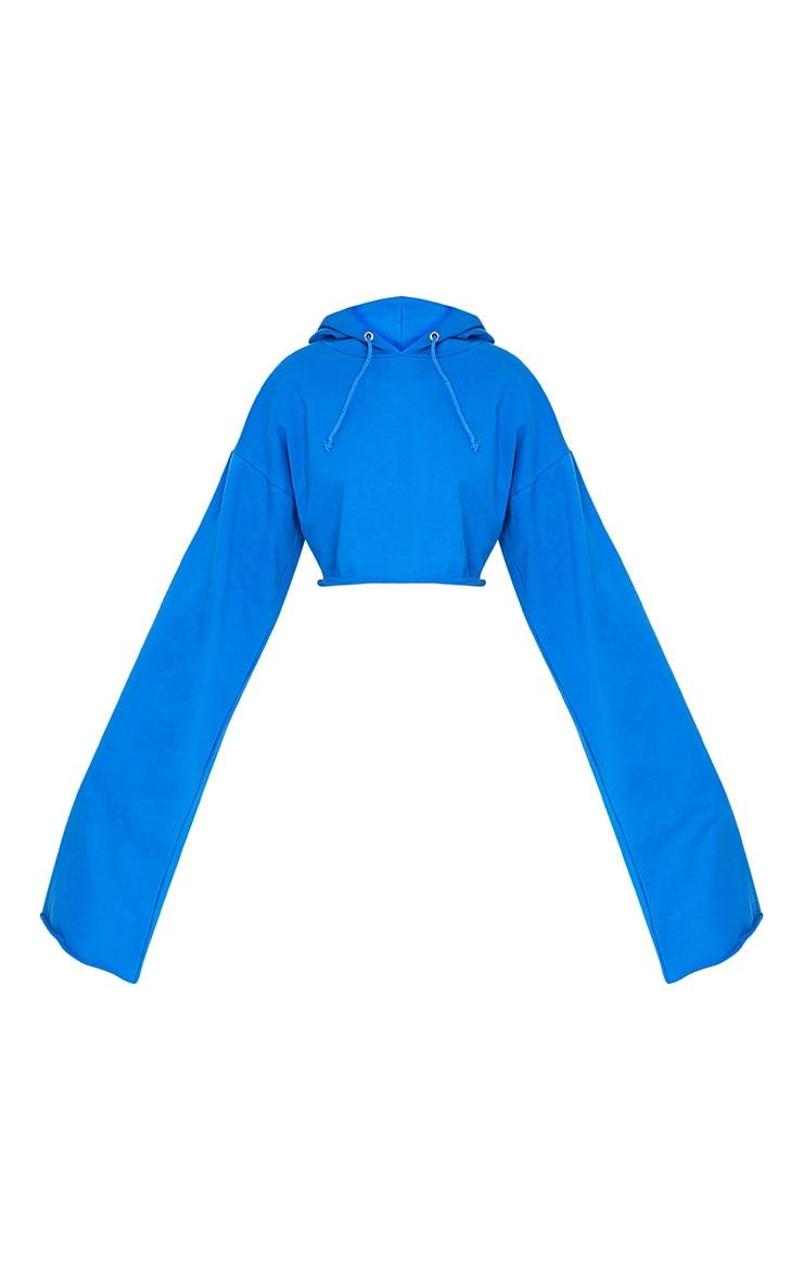 Daniela Bright Blue Extreme Longsleeve Hoodie 3