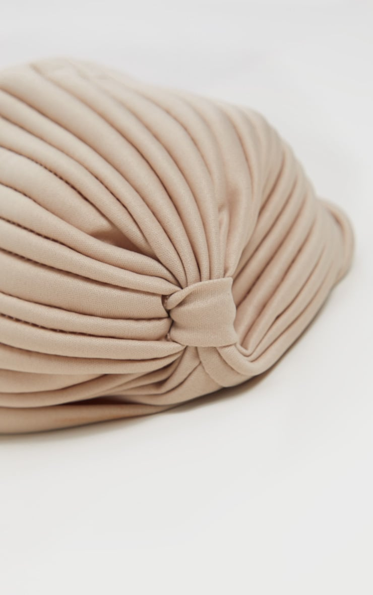 Nude Knotted Turban 3