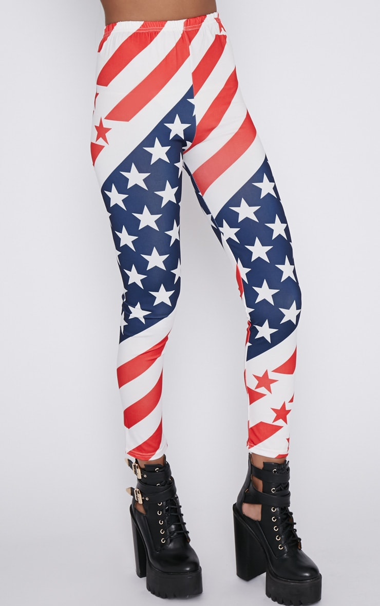Morgana American Flag Legging  5
