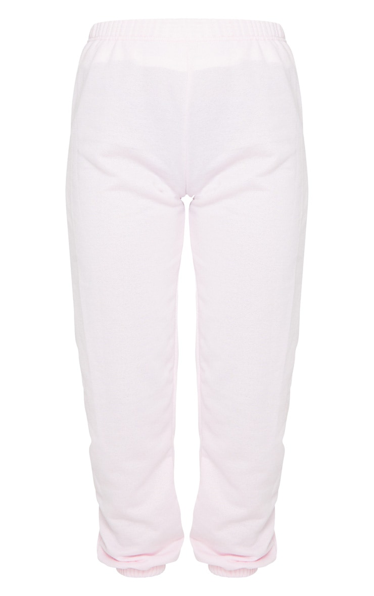 Pastel Pink Casual Jogger 6