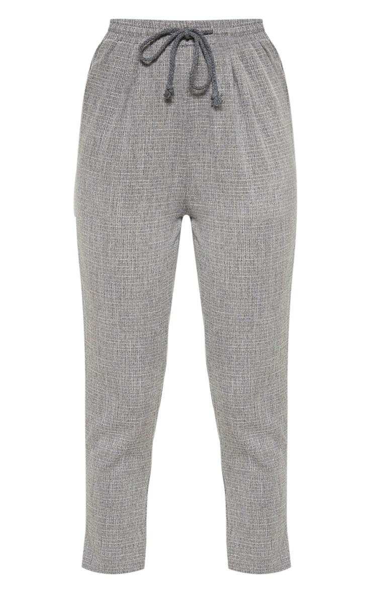 Diya Grey Casual Trousers 3