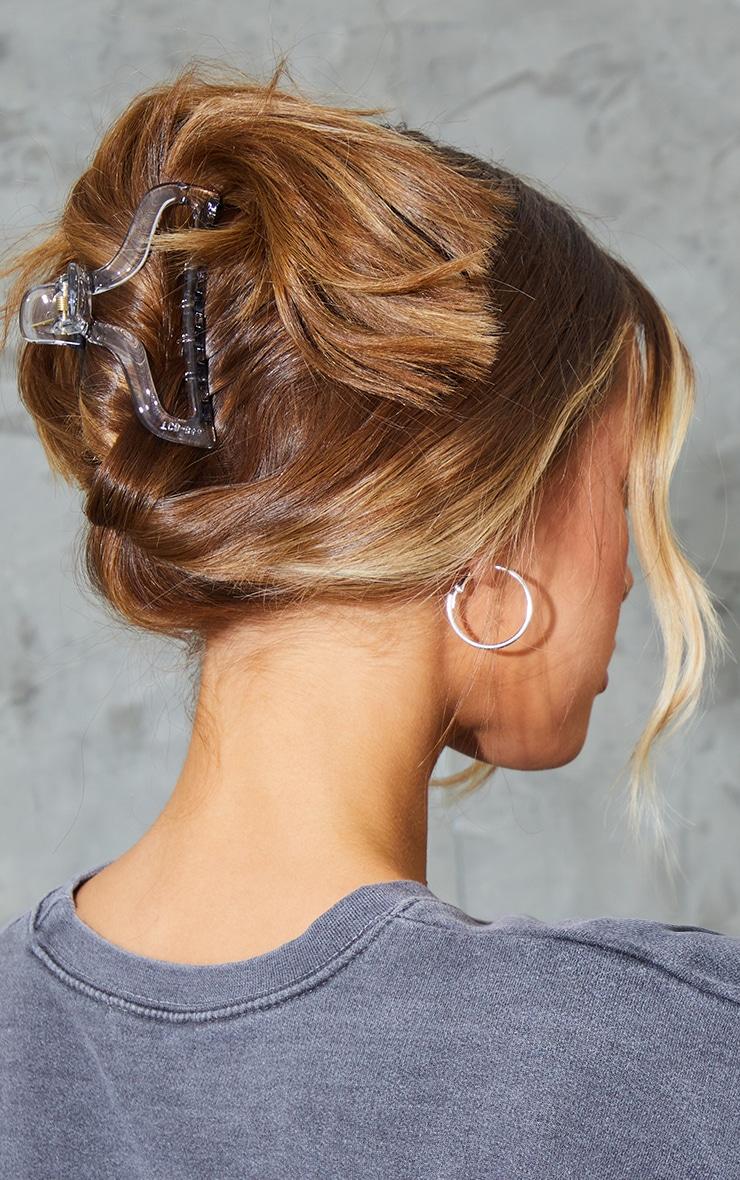 Clear Hair Claw 1
