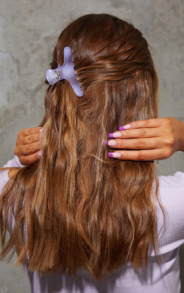 Lilac Hair Clip 1