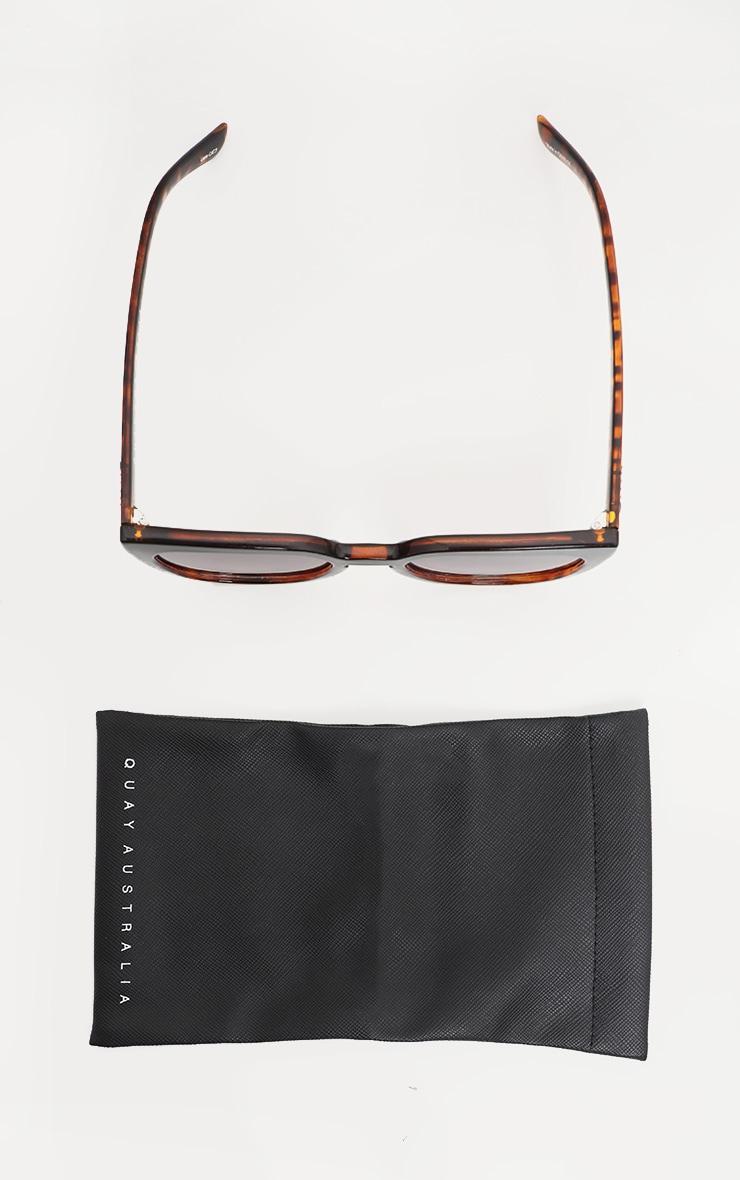 QUAY AUSTRALIA Black Tortoiseshell Noosa Sunglasses 4