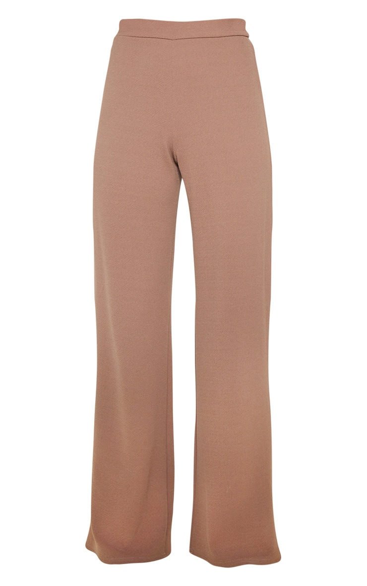 Camel Wide Leg Pants 3