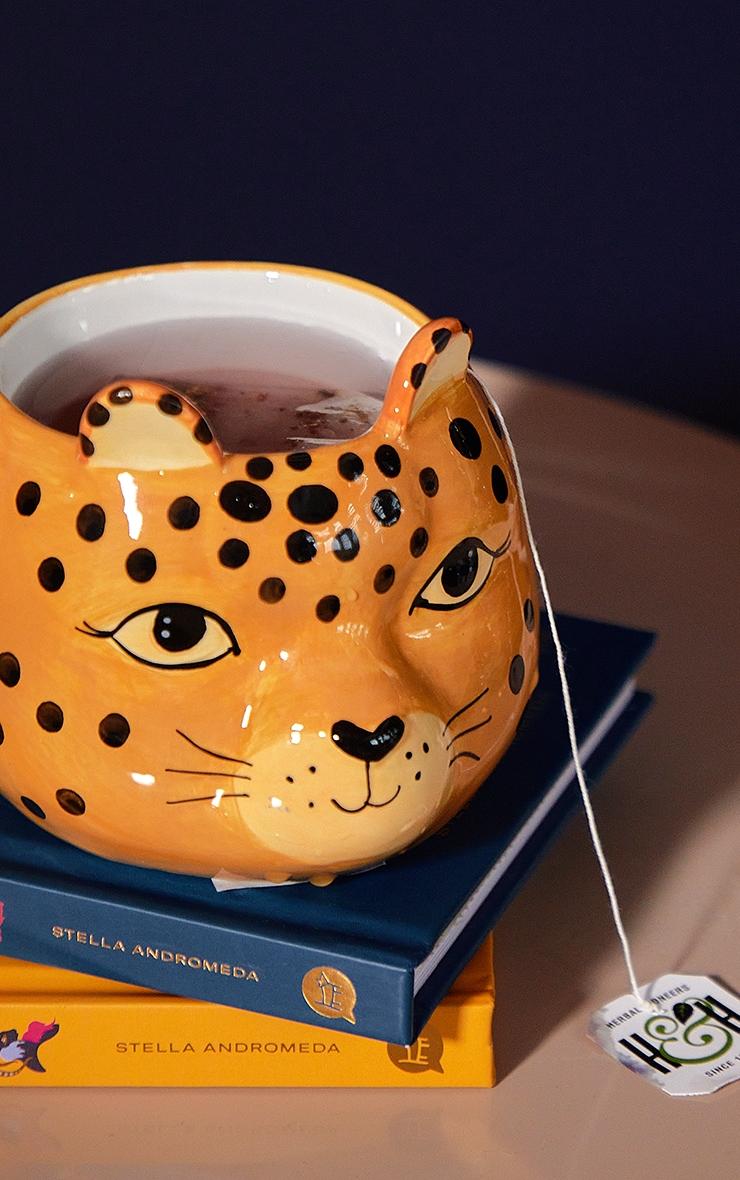 Leopard Love Shaped Mug 5
